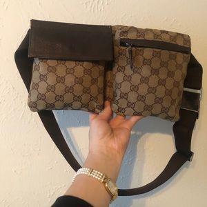 Authentic Gucci waist fanny pack belt bag